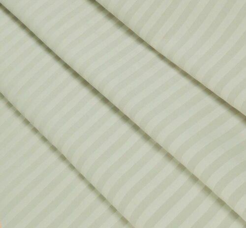 Страйп-сатин кремово-бежевый 240 см 125 грамм