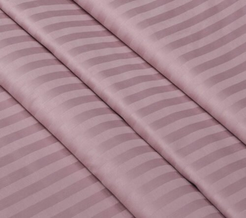 Страйп-сатин розовый зефир 240 см 125 грамм
