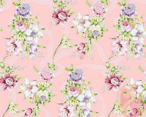 Тик Розовый цветник JS 100-0026