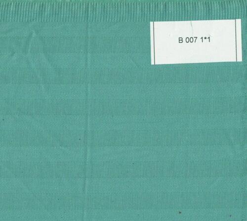Страйп-сатин зеленый 1*1