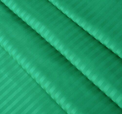 Страйп-сатин изумруд 240 см 125 грамм